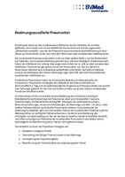 Hintergrundinformationen: Beatmungs-assoziierte Infektionen